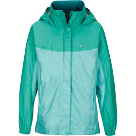 Marmot PreCip Jacket Girls Celtic/Turf Green